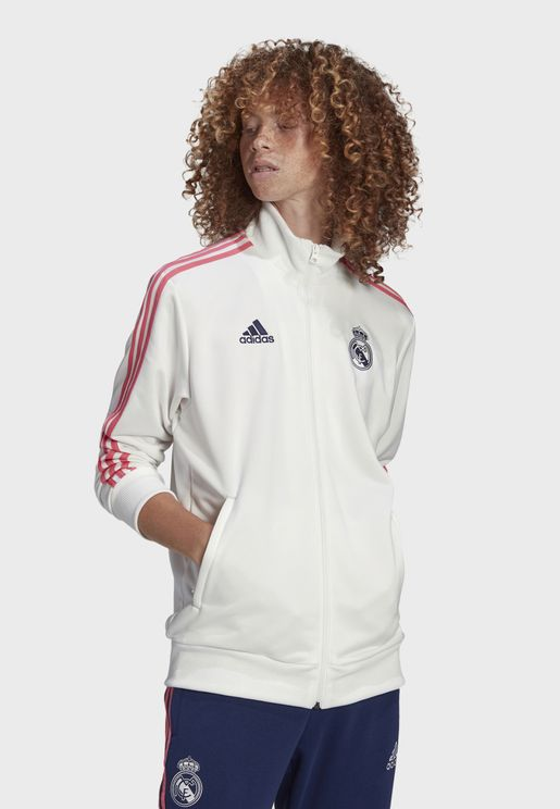 Real Madrid 3 Stripe Track Jacket