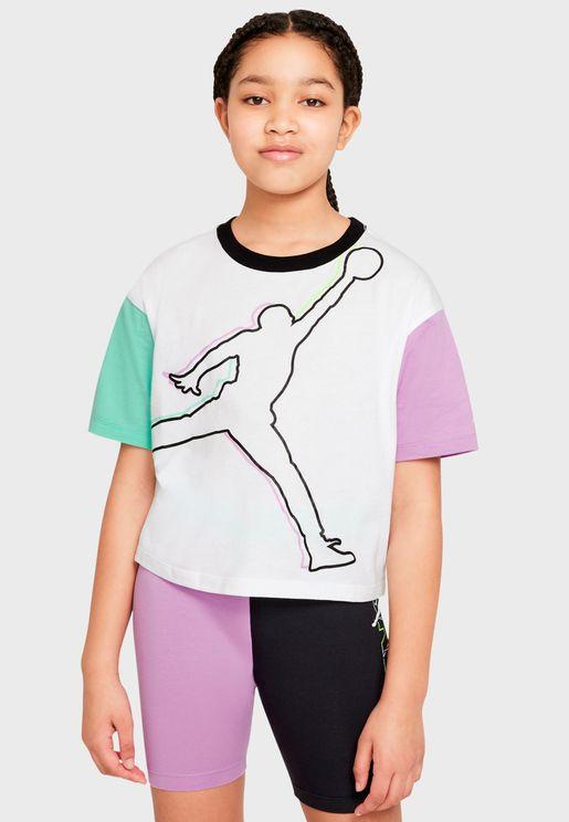 Youth Jordan J's Are For Girls T-Shirt