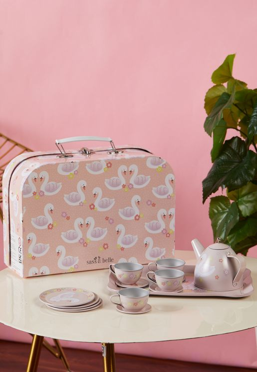 Kids Freya Swan Tea Set
