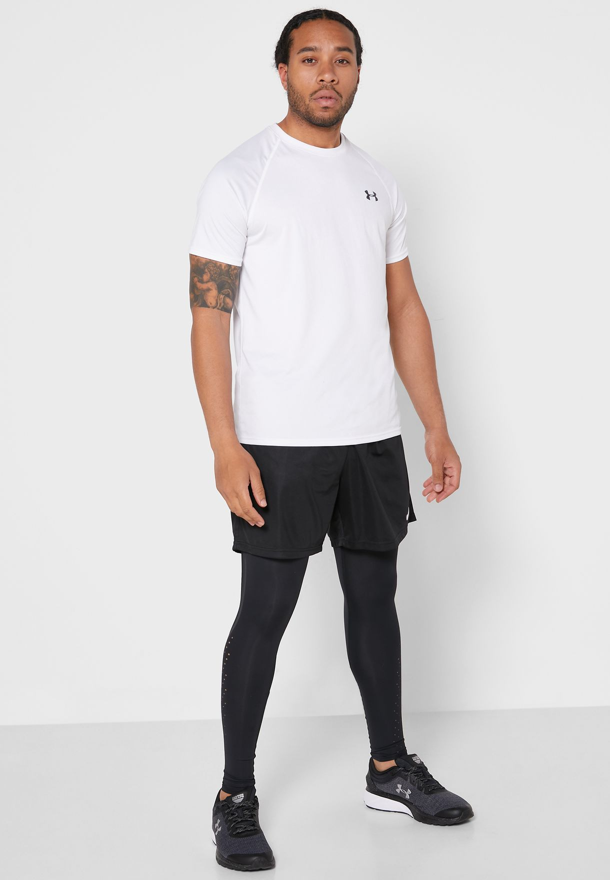 Qualifier Speed pocket Perforated Tights