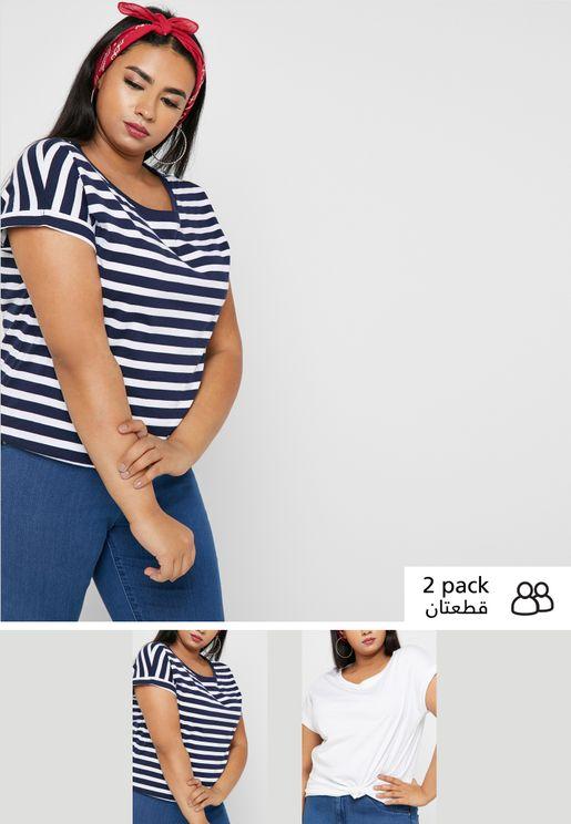 1107f1566af7 2 Pack Boyfriend T-Shirt