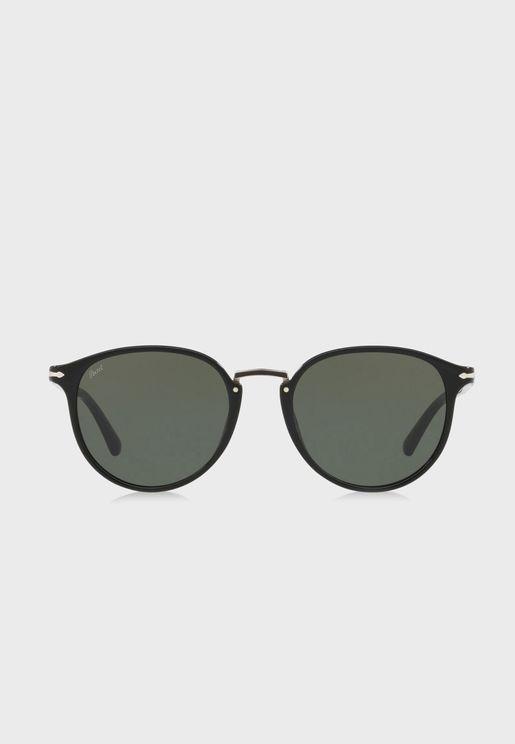 0PO3210S Round Sunglasses
