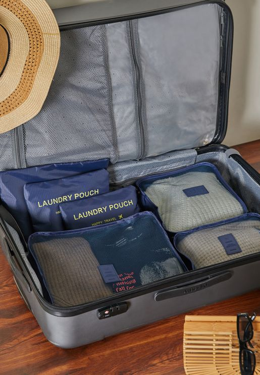 Blue Suitcase Organisers