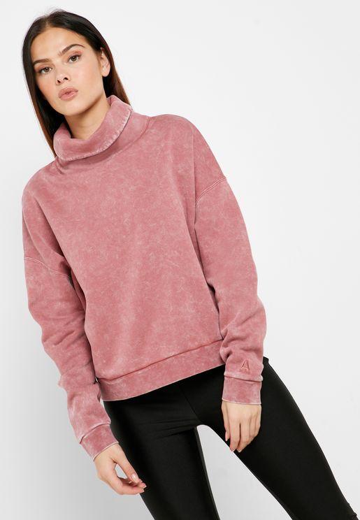 Oversized Cover Up Sweatshirt
