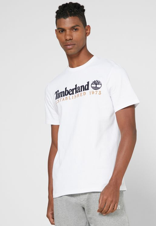 Outdoor Heritage Linear Logo T-Shirt