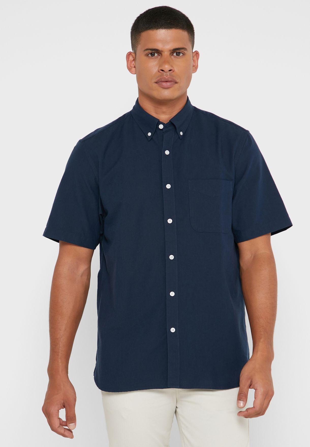 قميص كلاسيكي فضفاض