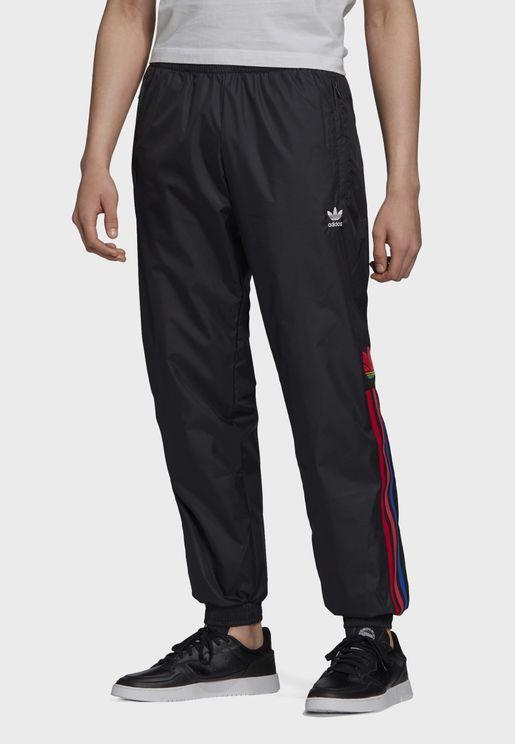 adicolor 3 Stripe Trefoil Sweatpants