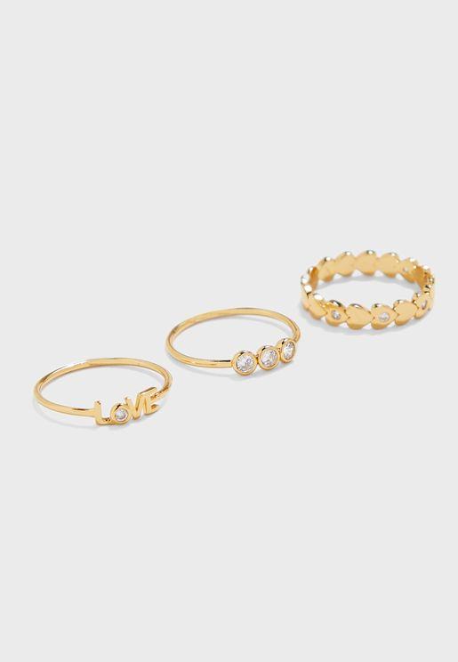 Bradna Ring Set