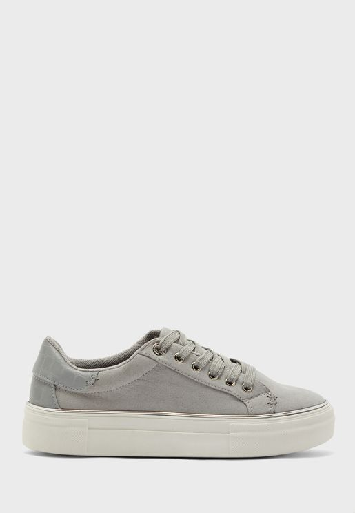 Clover Lace Up Sneaker