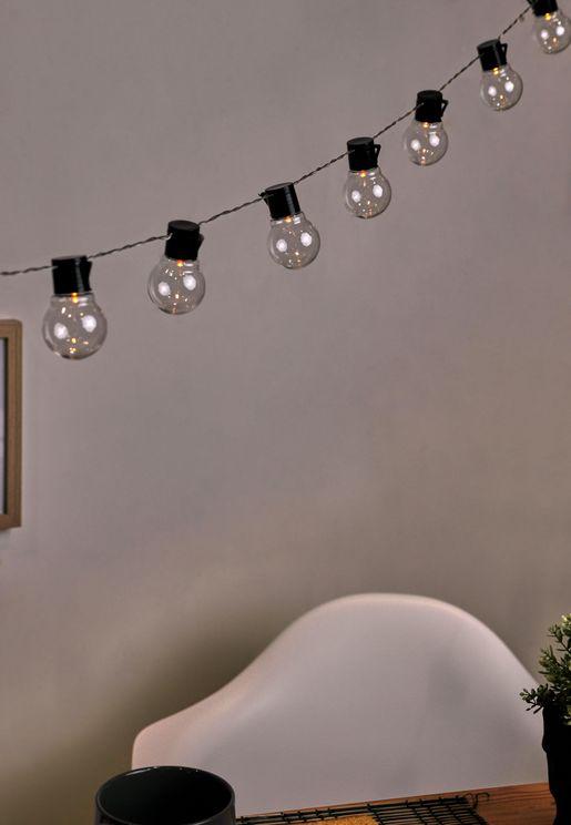 Clear Bulbs Usb Festoon String Lights 20L