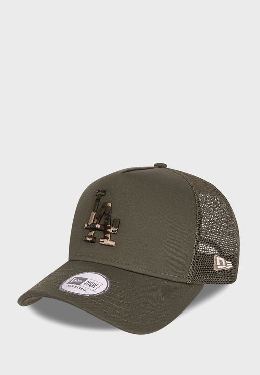 9Forty Los Angeles Dodgers Camo Cap