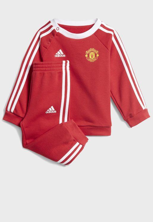 Infant Manchester United 3 Stripe Tracksuit