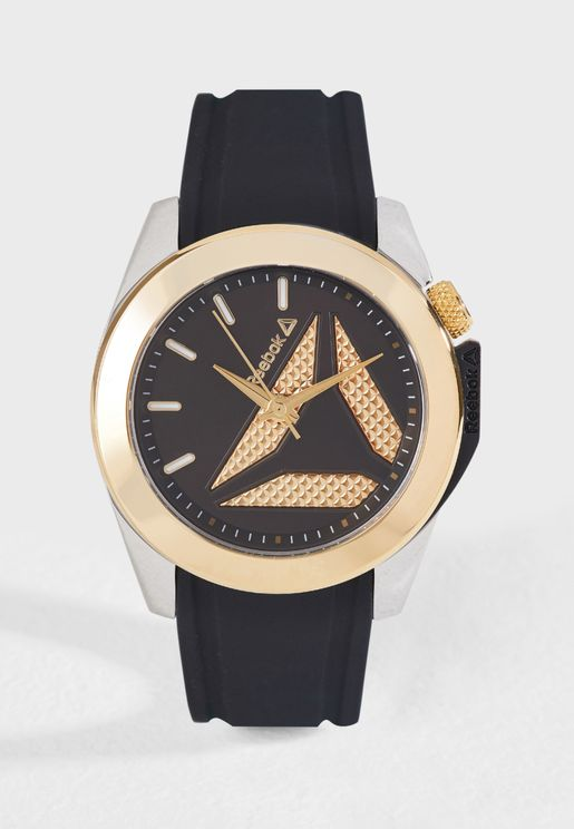 Diane Silicon Strap Watch