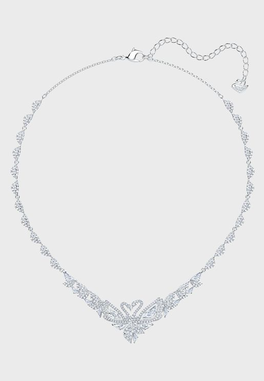 All Around Dancing Swan Necklace