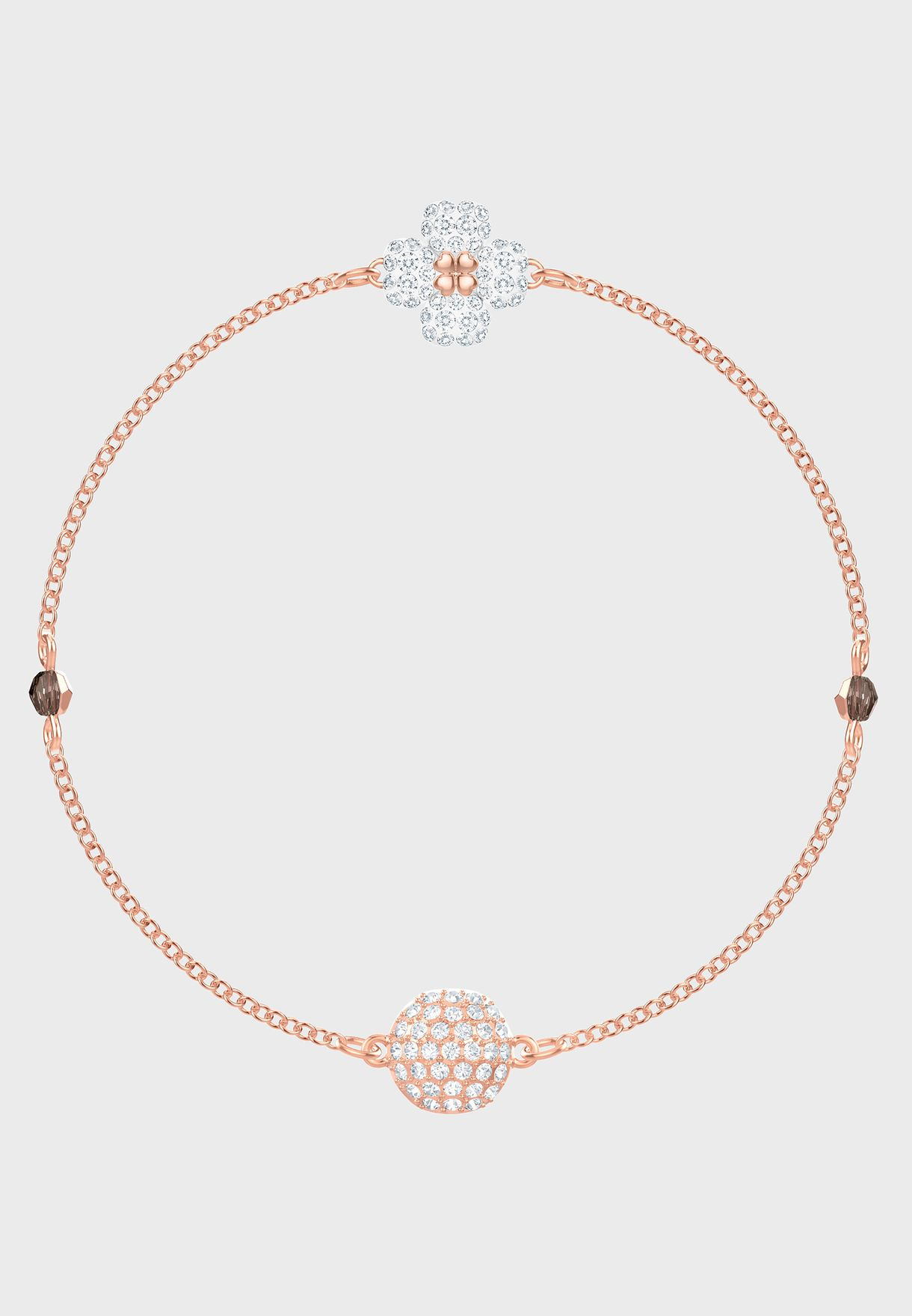 cbaaf8765 Shop Swarovski rosegold Swarovski Remix Collection Clover Bracelet 5451088  for Women in UAE - 14448AC57HEP