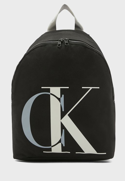 Kids Logo Printed Backpack