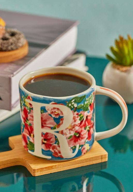 R Initial Dawn Mug