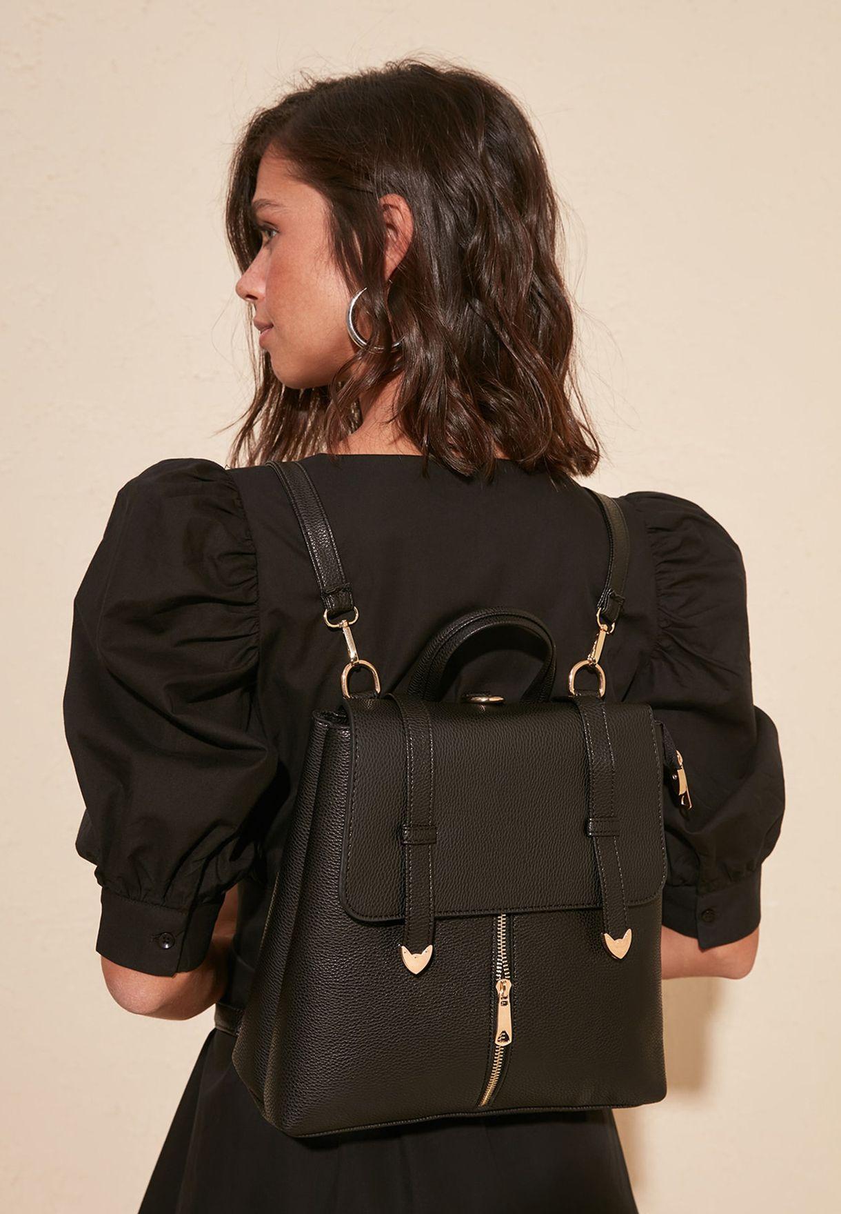 Zip Detail Backpack