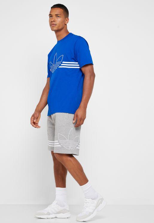 Outline Trefoil Shorts