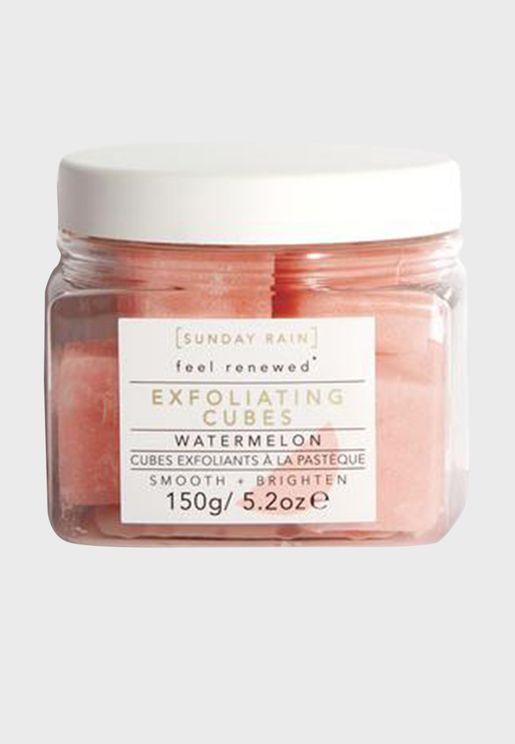 Exfoliating Cubes Watermelon