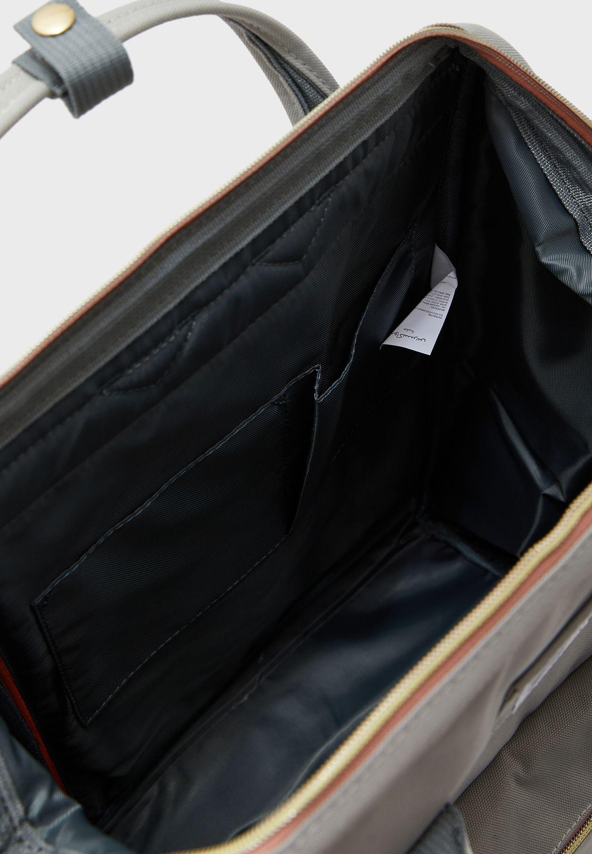 Kids Front Zip Pocket Backpack