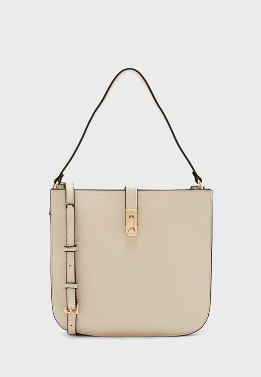Pushlock Detail Crossbody