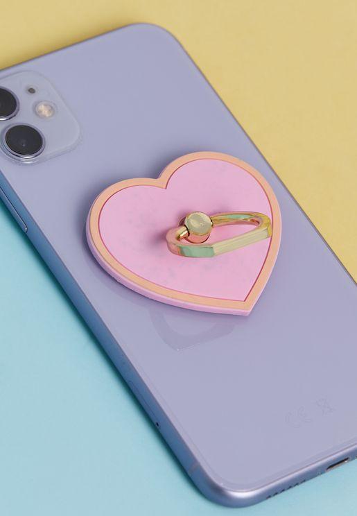 Jumbo Heart Phone Ring