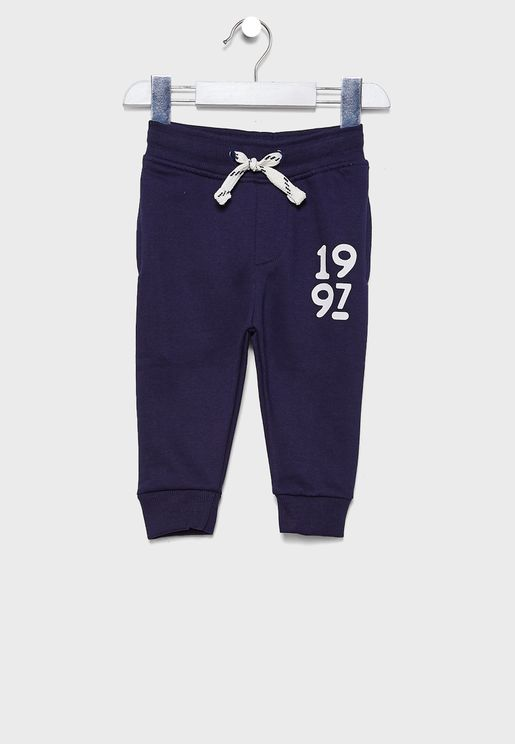 Little Cuffed Sweatpants