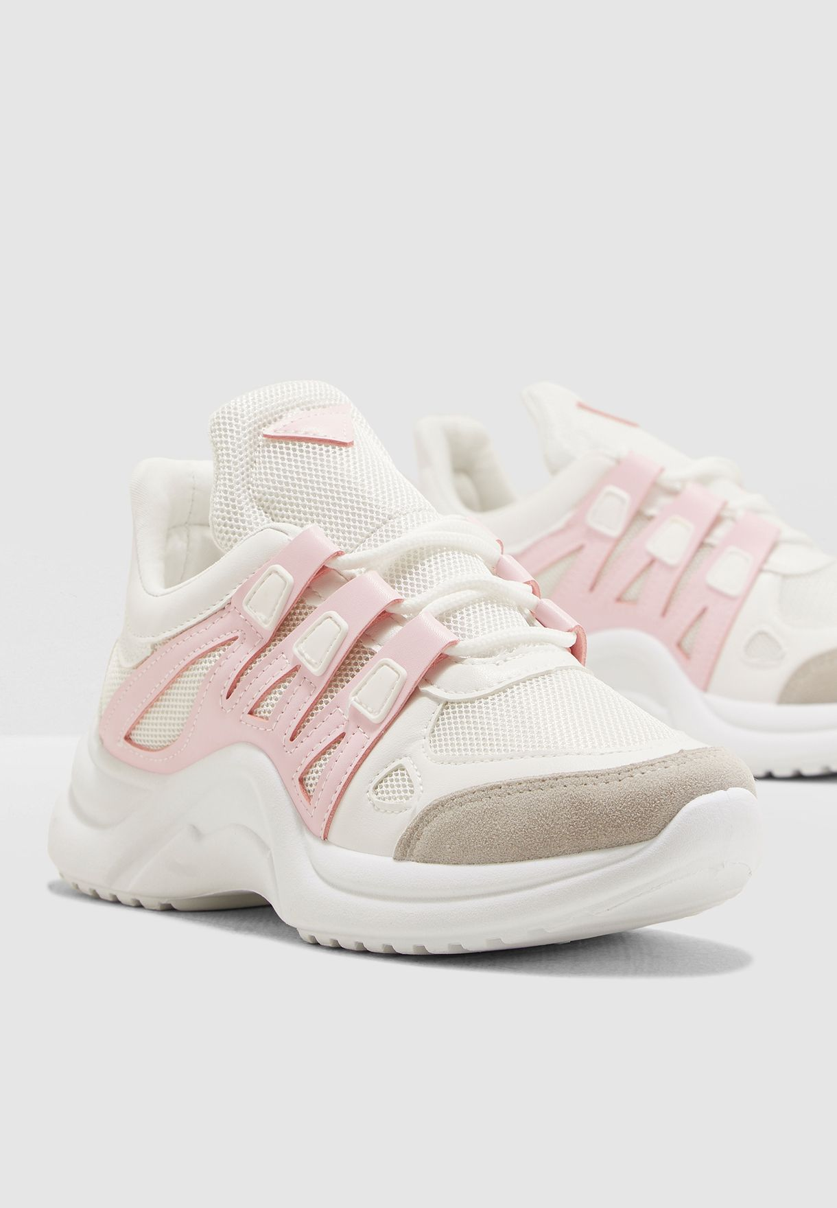 Chunky Sneaker With Colour Pop