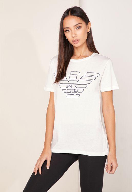 Organic Logo Pyjama T-Shirt