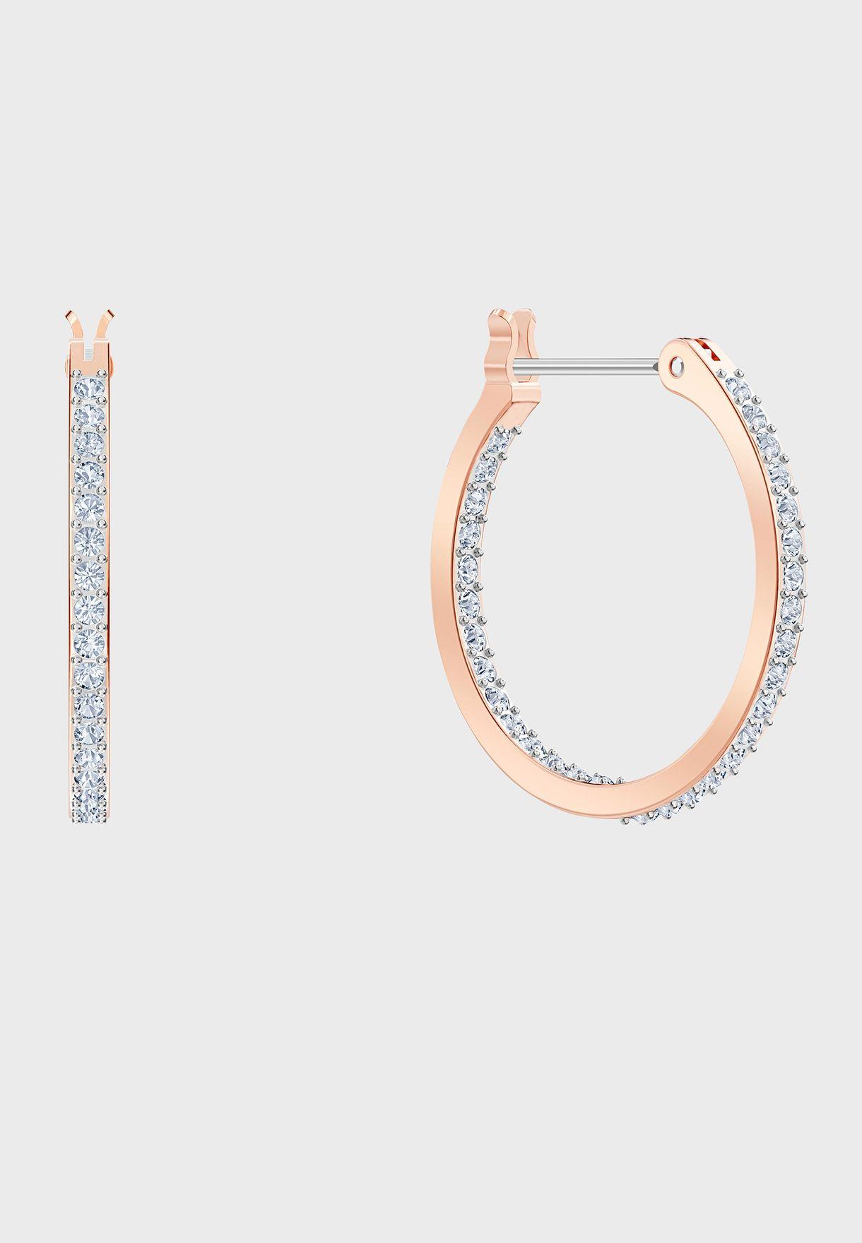 Swa Symbol Mini Drop Earrings