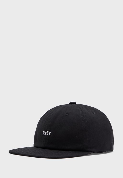 Jumbled 6 Panel Strapback Cap