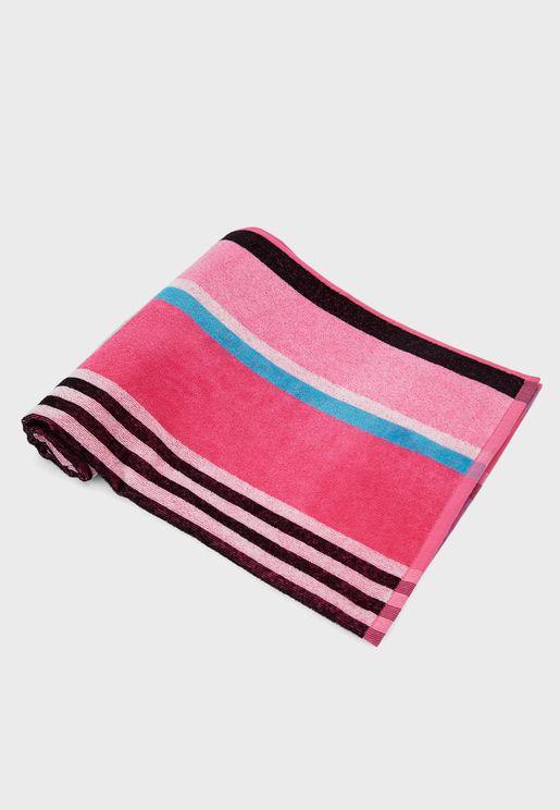 Multi Stripe Bath Towel