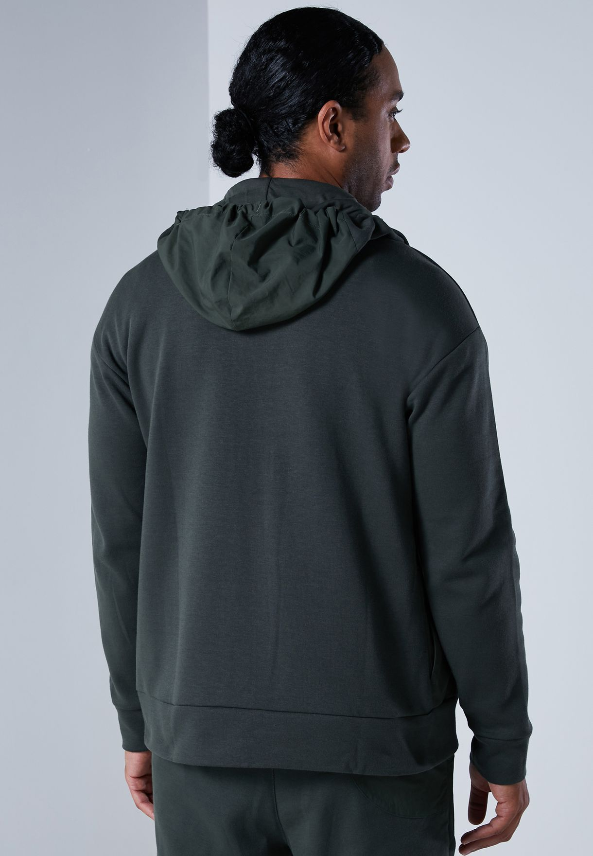 Training Supply Knit-Woven Hoodie