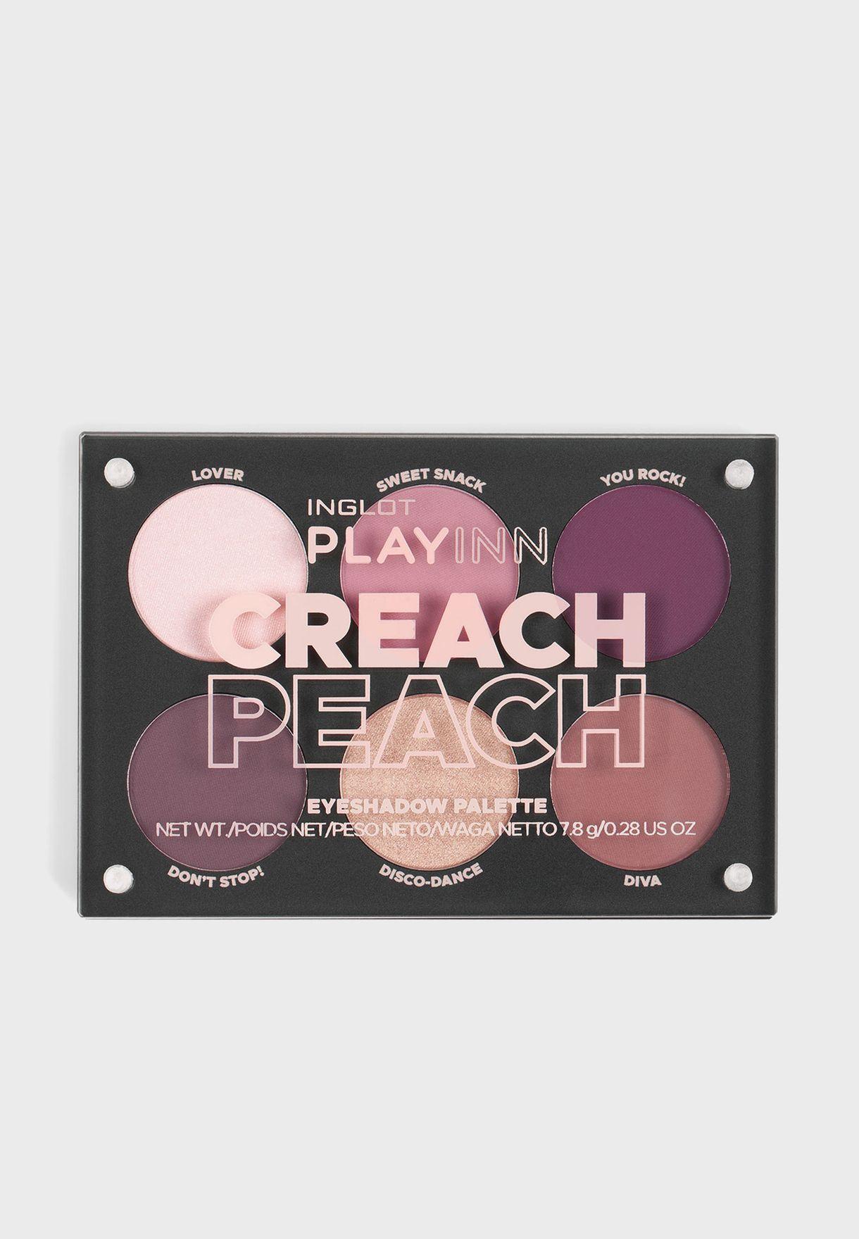 Playinn Creach Eyeshadow Palette Peach