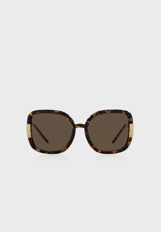 0Ty9063U Oversized Sunglasses