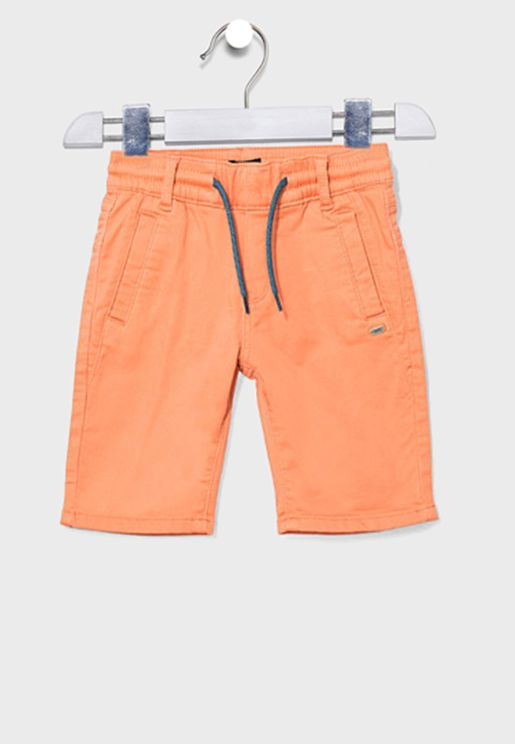 Youth Terracotta Shorts