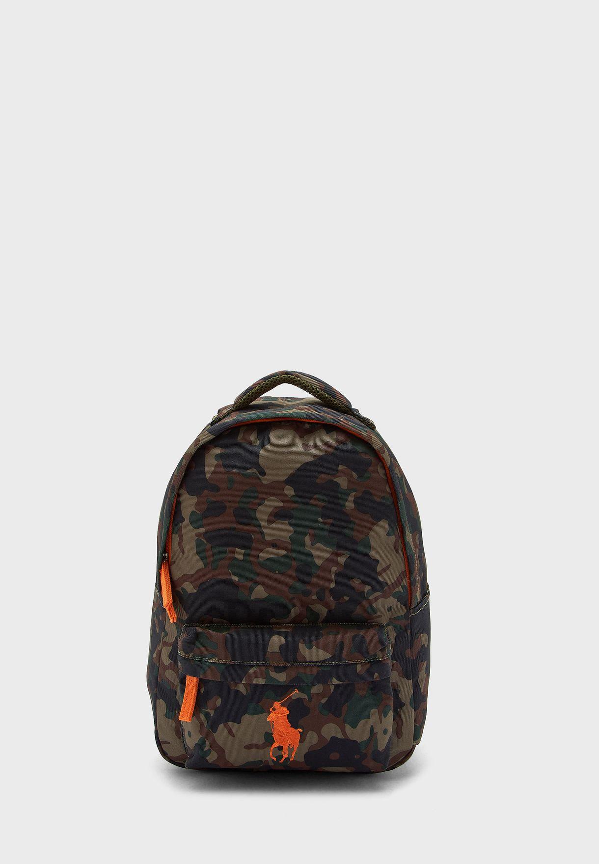 Zip Closure Outer Pocket Backpack