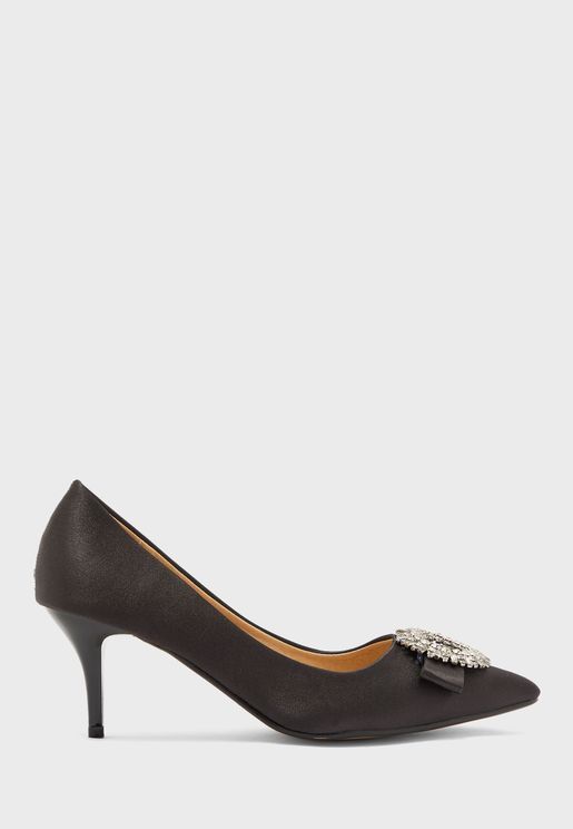 Diamante Trim Pumps