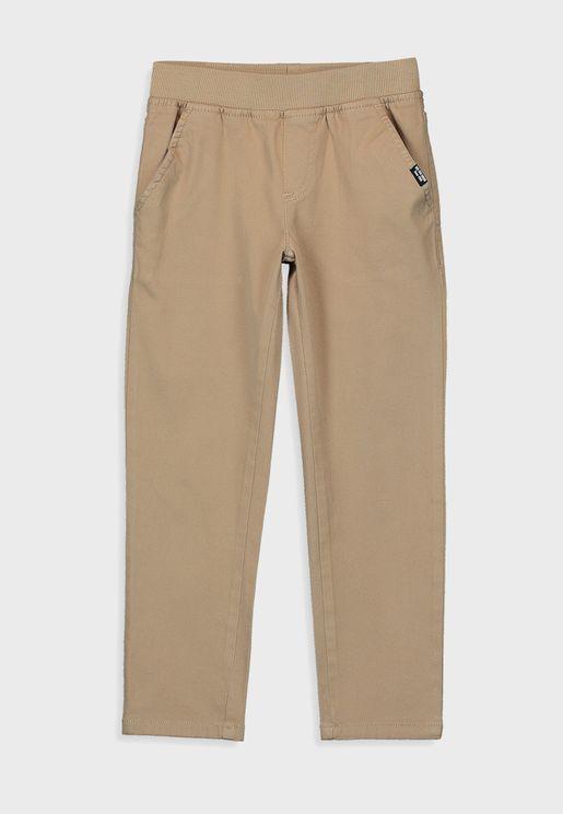 Kids Gabardine Trousers
