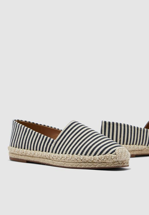 Espadrilles In Stripe