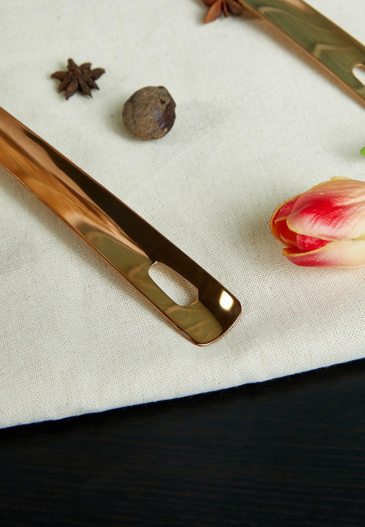 Freya Stainless Steel Rose Gold Ladle