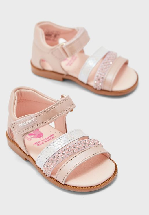 Infant Multi Strap Sandal