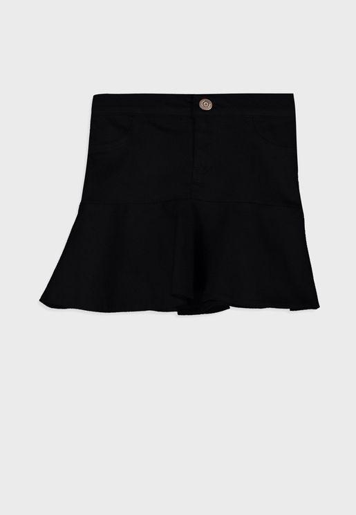 Kids Flounce Skirt