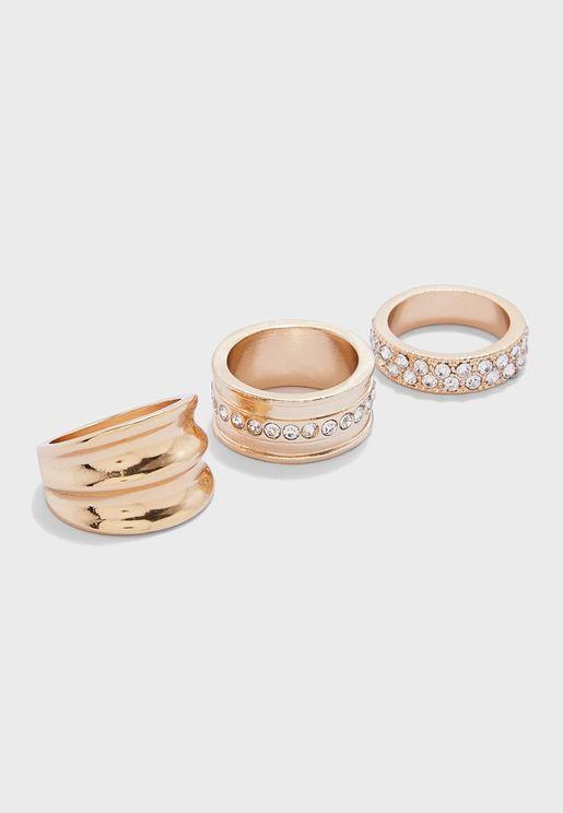 Multipack Greaviel Rings