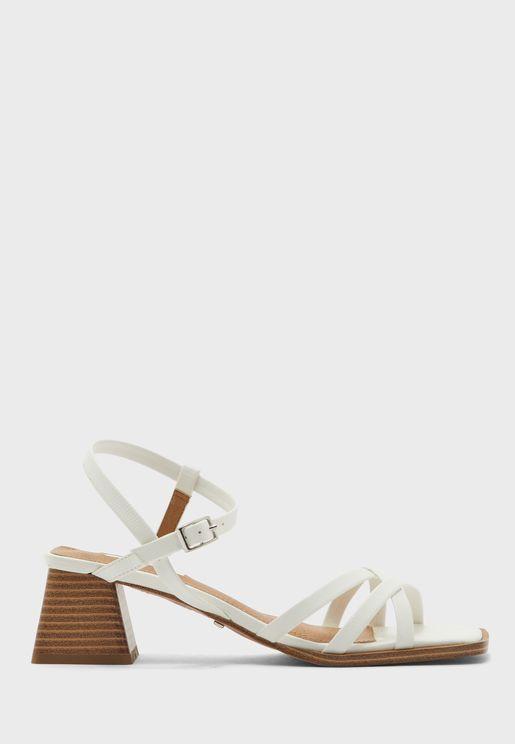 Divine Block Heel Sandal