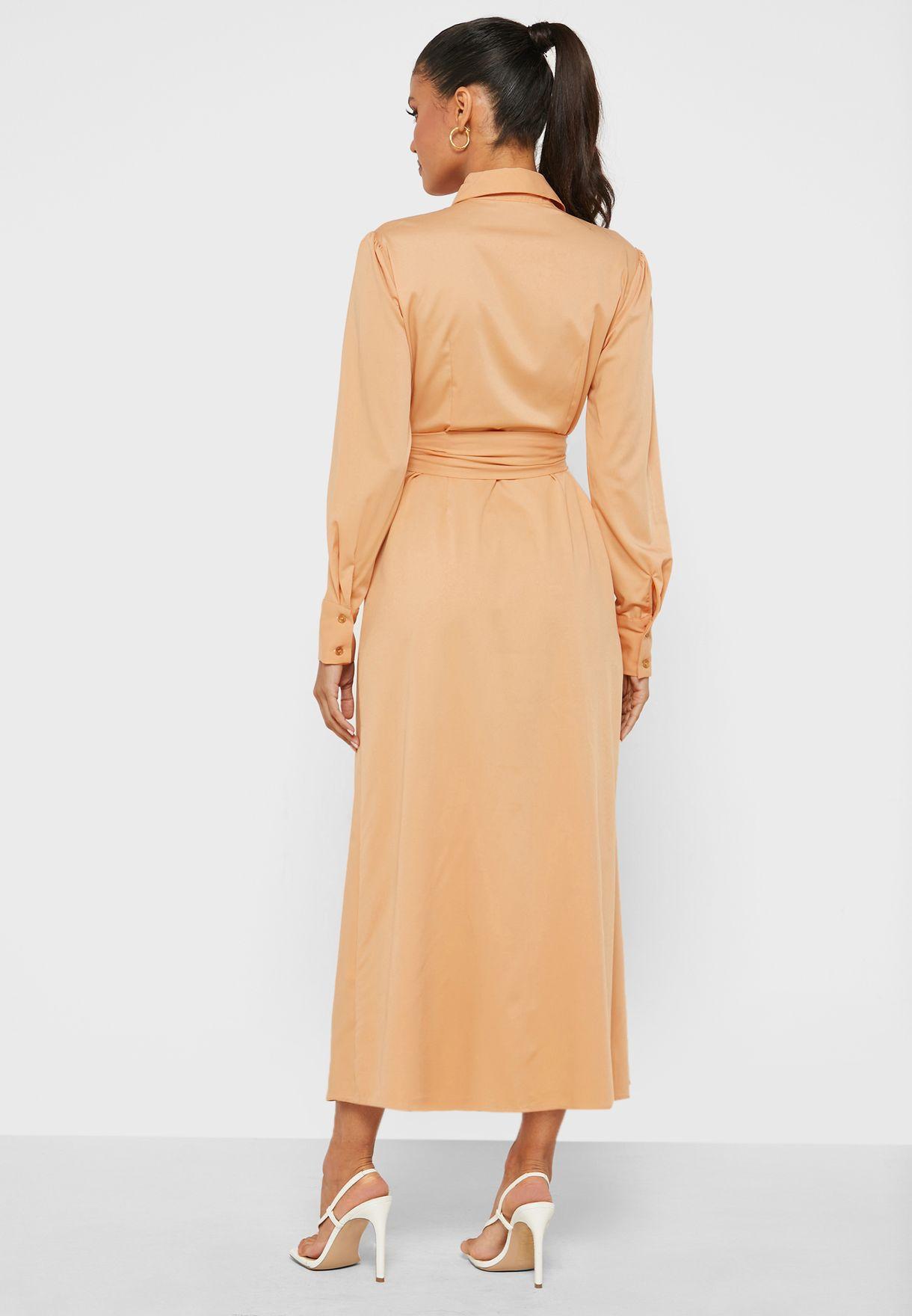 Ruffle Detailed Dress