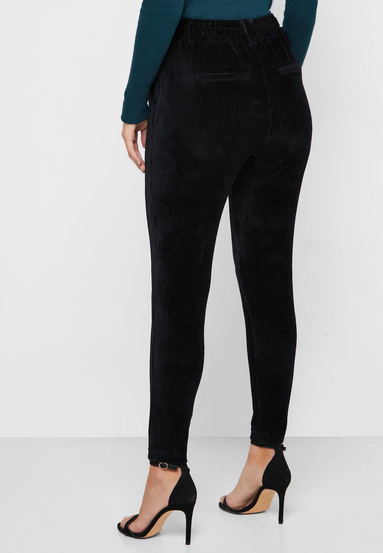 Regular Length Tie Waist Pants
