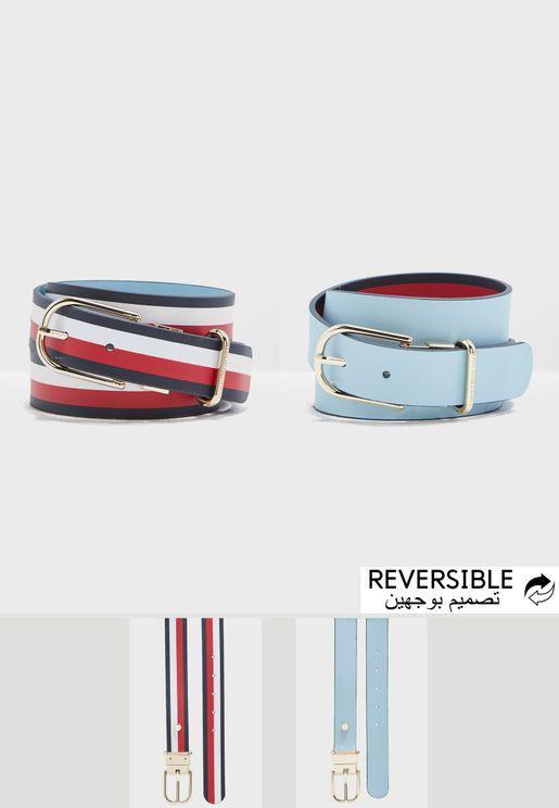 New Fancy Reversible Belt