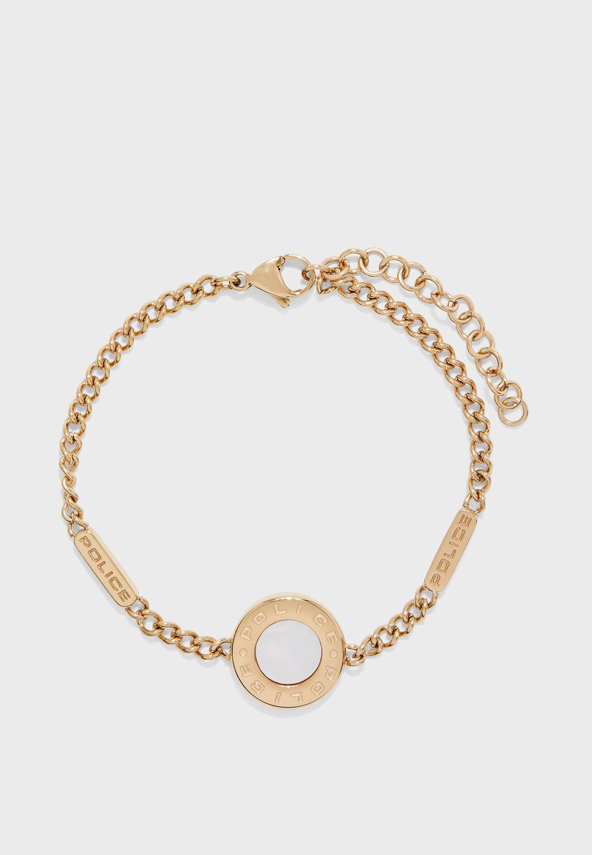 Moth Link Chain Bracelet